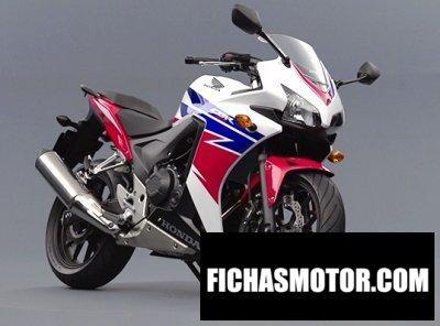 Ficha técnica Honda cbr400r 2014