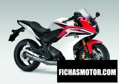 Ficha técnica Honda cbr600f 2011