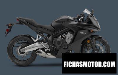 Imagen moto Honda cbr650f año 2015