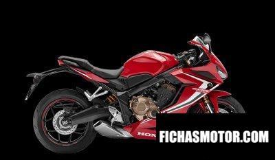 Imagen moto Honda CBR650R año 2020