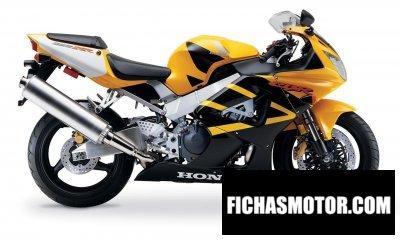 Imagen moto Honda cbr929rr año 2000