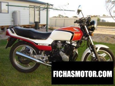 Imagen moto Honda cbx 550 f año 1982