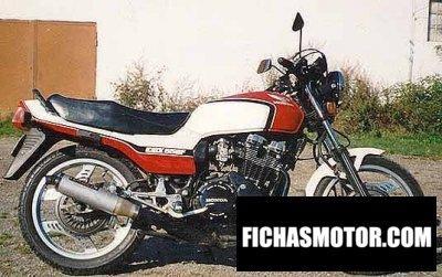 Imagen moto Honda cbx 550 f año 1985