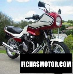 Imagen moto Honda cbx 550 f 2 (reduced effect) 1985