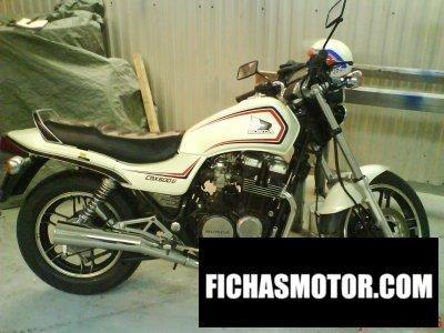 Imagen moto Honda cbx 600 e año 1983