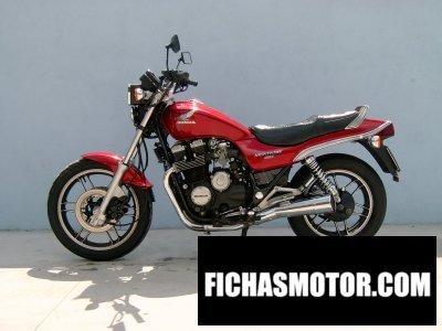 Ficha técnica Honda cbx 650 e 1984