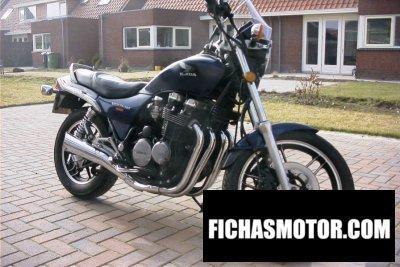 Imagen moto Honda cbx 650 e año 1985