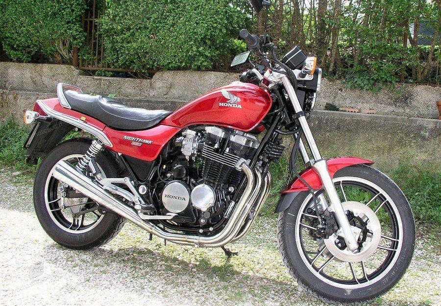 Imagen moto Honda cbx 650 e año 1986