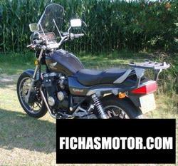 Imagen moto Honda cbx 650 e nighthawk 1985