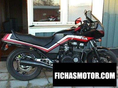 Imagen moto Honda cbx 750 f año 1984