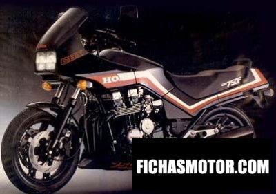 Ficha técnica Honda cbx 750 f 1986