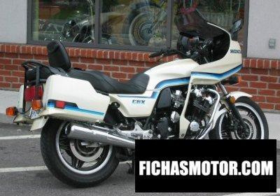 Imagen moto Honda cbx pro link año 1982