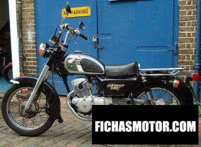 Imagen moto Honda cd 125 t benly año 2002