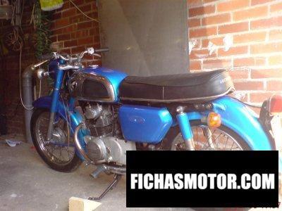Imagen moto Honda cd 175 año 1976