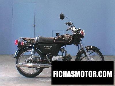 Ficha técnica Honda cd 50 benly 2002
