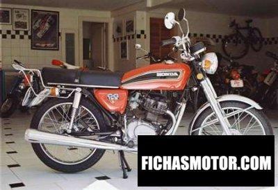 Ficha técnica Honda cg 125 1976