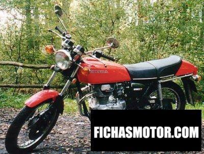 Ficha técnica Honda cj 250 t 1976