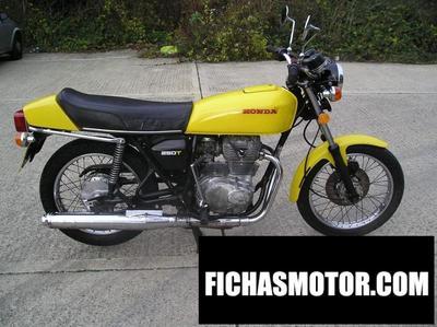 Imagen moto Honda cj 250 t año 1978