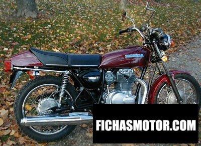 Imagen moto Honda cj 360 t año 1976