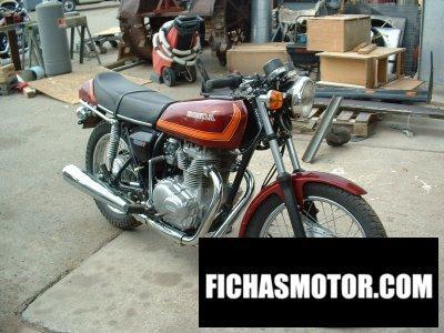 Imagen moto Honda cj 360 t año 1977