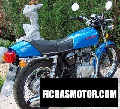 Ficha técnica Honda cj 360 t 1978