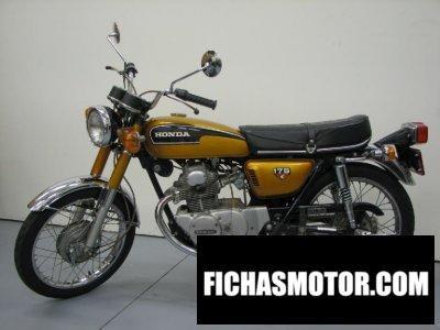 Ficha técnica Honda cl 175 1972