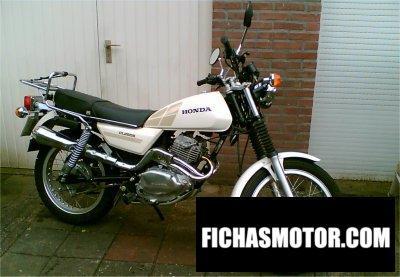 Ficha técnica Honda cl 250 s 1982