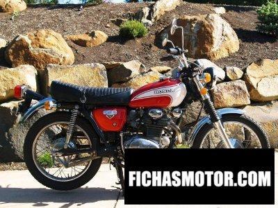 Ficha técnica Honda cl350 1973
