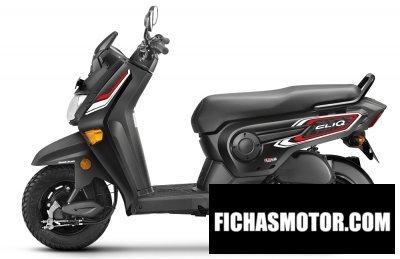 Imagen moto Honda cliq año 2018