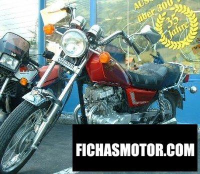 Ficha técnica Honda cm 125 c 1982