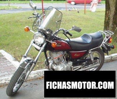 Imagen moto Honda cm 125 c año 1983