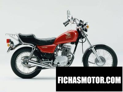 Imagen moto Honda cm 125 c año 1984