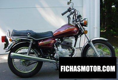 Imagen moto Honda cm 185 t año 1979