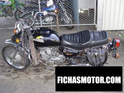 Imagen moto Honda cm 200 t año 1980