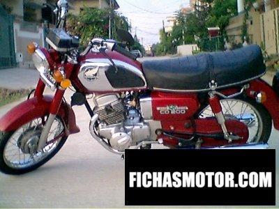 Imagen moto Honda cm 200 t año 1983
