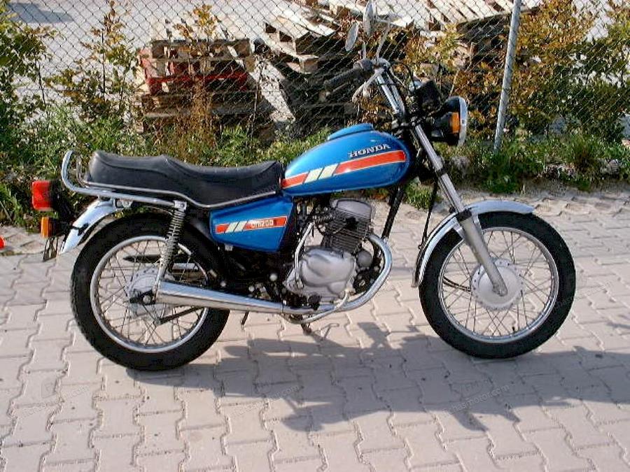 Imagen moto Honda cm 200 t año 1985