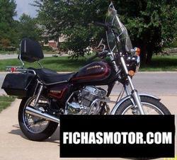 Imagen moto Honda cm 200 t (reduced effect) 1982