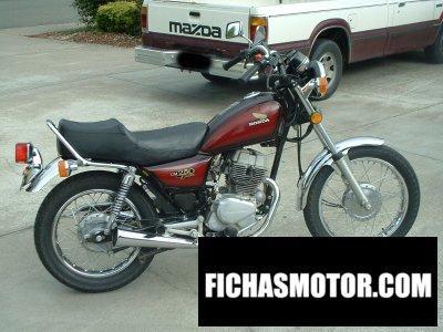 Ficha técnica Honda cm 250 c 1982