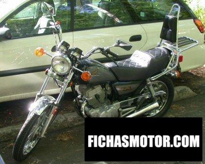 Imagen moto Honda cm 250 c año 1984
