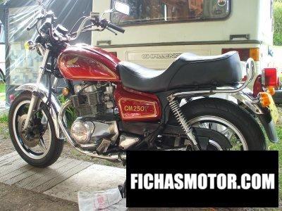 Imagen moto Honda cm 250 tb año 1981