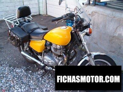 Ficha técnica Honda cm 400 a 1979