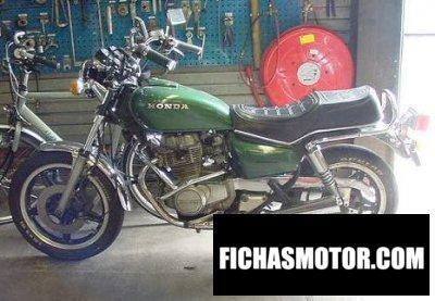 Imagen moto Honda cm 400 t año 1980