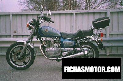 Ficha técnica Honda cm 400 t 1981