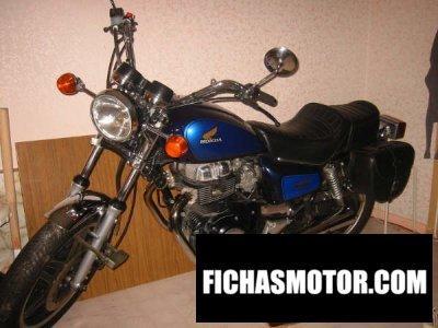 Imagen moto Honda cm 400 t año 1982