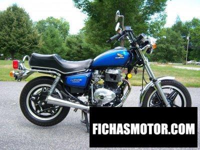 Ficha técnica Honda cm 450 a hondamatic 1982