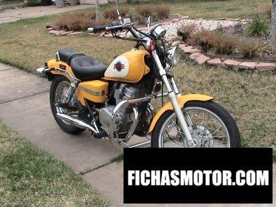 Ficha técnica Honda cmx 250 rebel 1997