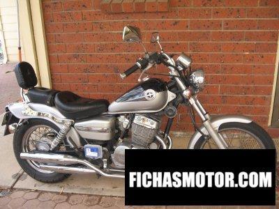 Imagen moto Honda cmx 250 rebel año 1998