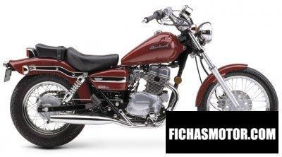 Imagen moto Honda cmx 250 rebel año 2004