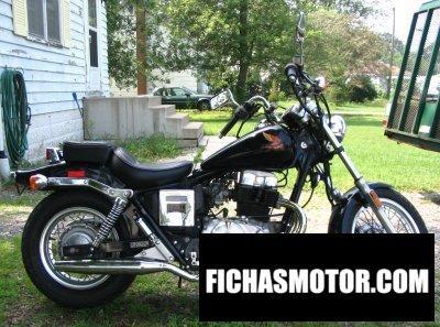 Imagen moto Honda cmx 450 rebel año 1986
