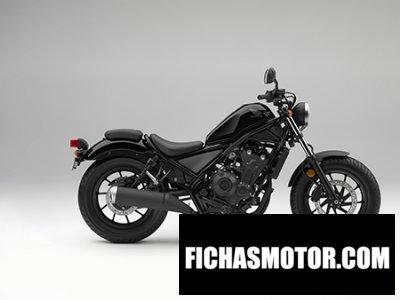 Imagen moto Honda cmx500 rebel año 2018